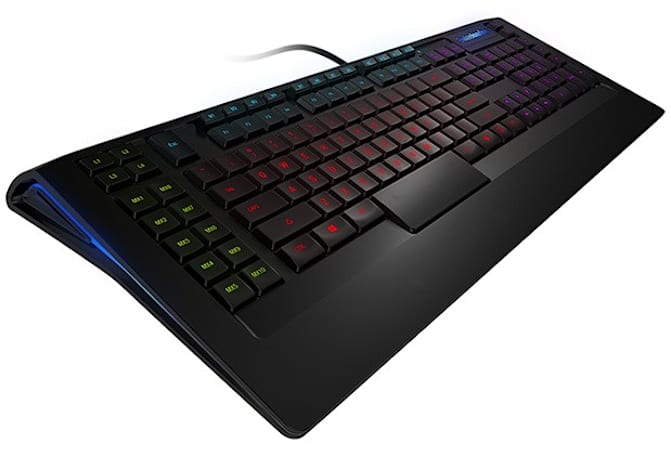 SteelSeries announces Apex and Apex [RAW] gaming keyboards (yes, the keys are backlit)