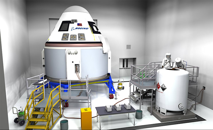 Boeing pushes space taxi's first ISS mission to late 2018
