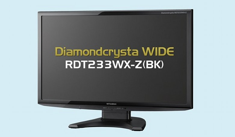 Mitsubishi's latest 23-inch Diamondcrysta fulfills your matte, IPS desktop display dreams