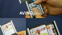Dual-screen cellphone prototype: two great tastes that taste great together