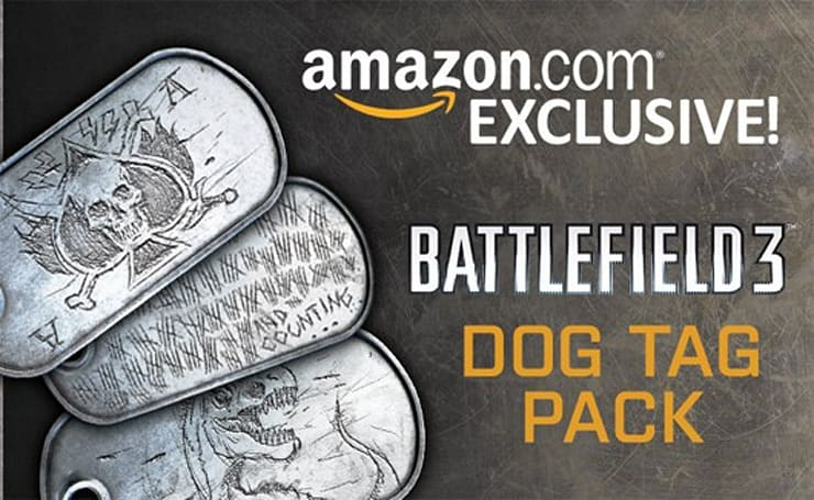 Battlefield 3 deploys 'Dog Tag' pack for Amazon pre-orders