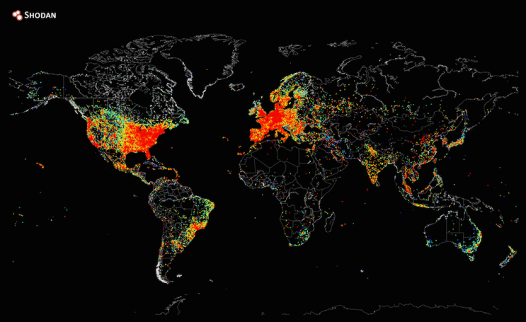 The Big Picture: a heat map of the 'entire' internet