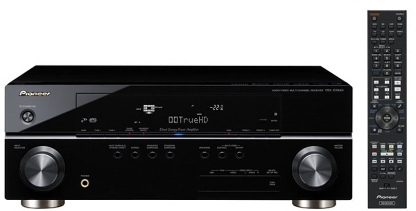 Pioneer's VSX-819H, VSX-819AH and VSX-1019AH officially available