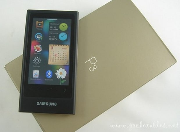 Samsung's P3 PMP gets imported, reviewed, adored
