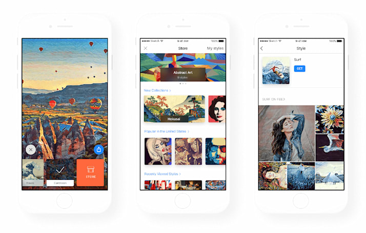 Prisma lets you create your own photo filters