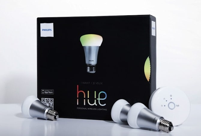 Philips hue: the 'world's smartest' LED lightbulb that saves you time during Red Alerts