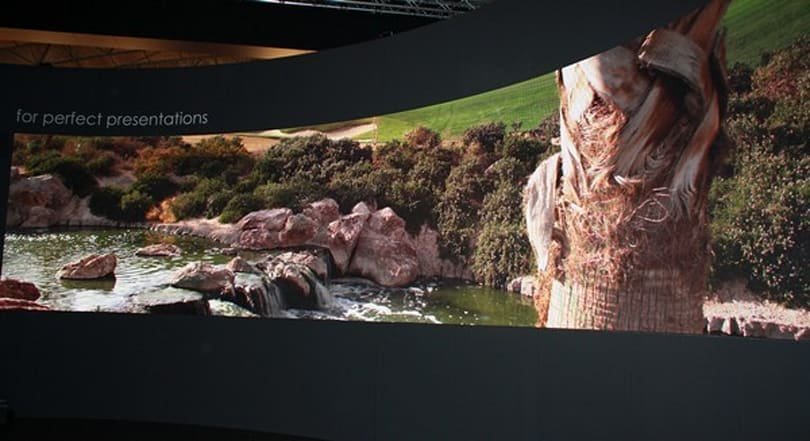 Barco's NX4 3D video wall does LED on a decidedly large scale (video)