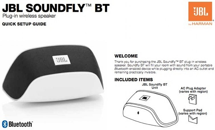 JBL's extra-tiny Soundfly BT wall outlet speaker gets spoiled by the FCC