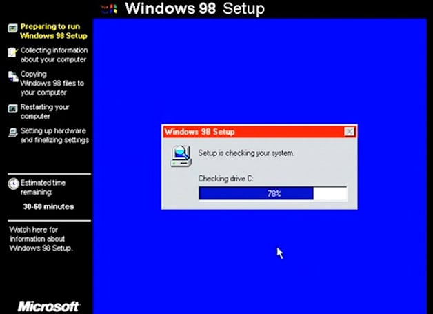 Charting the upgrade path from DOS 5.0 to Windows 7 (video)