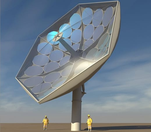 IBM solar collector will concentrate the power of 2,000 suns, keep its cool
