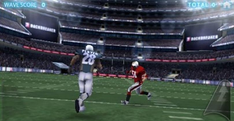 KFC sponsors Backbreaker Football's lite iPhone version