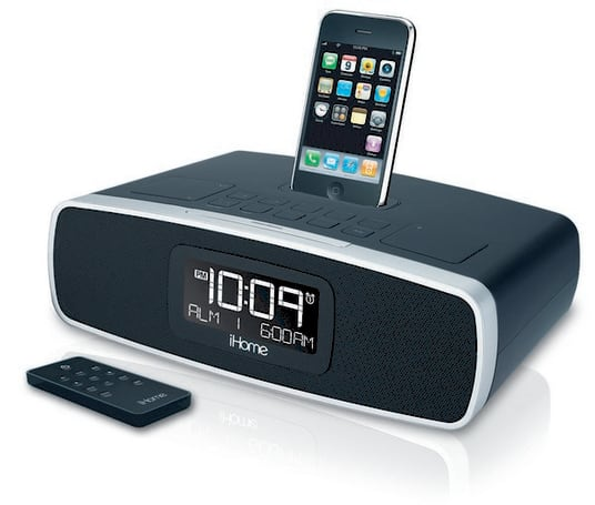 iHome's new clock radios will ensure neither you nor your iPhone ever sleep too late