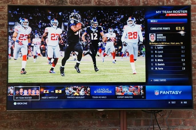 Microsoft shows off ESPN and NFL apps for Xbox One, Yahoo and ESPN fantasy football likely for 2014