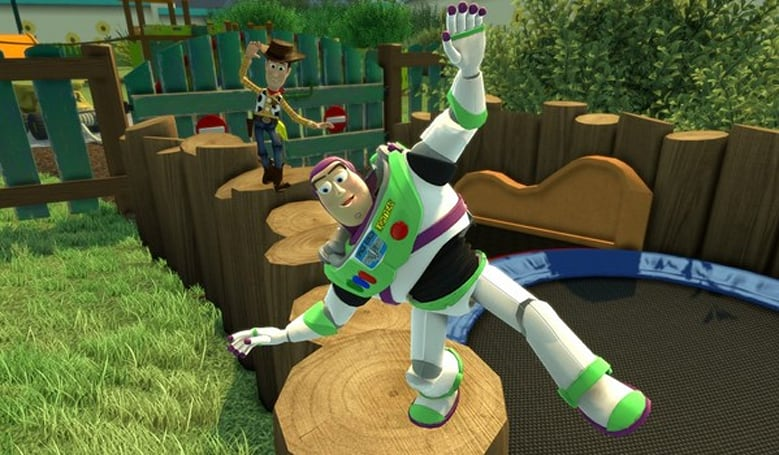 Take your time with this Kinect Rush: A Disney Pixar Adventure gameplay
