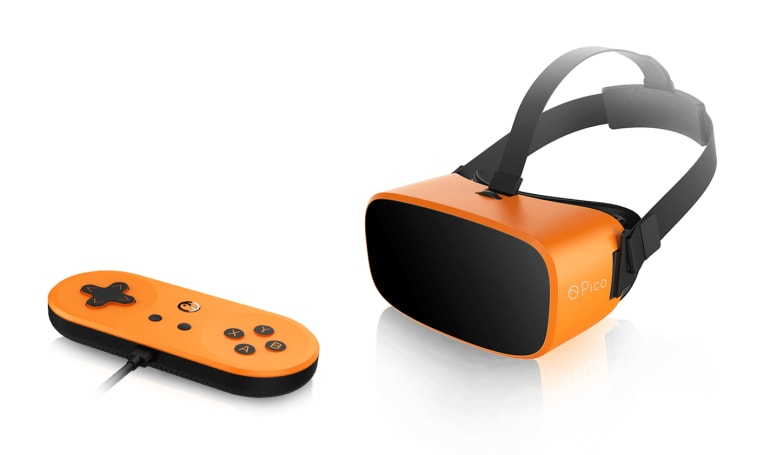 The Pico Neo is a dumb VR headset with a smart controller