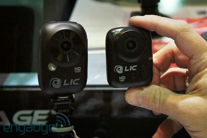 Hands-on with Liquid Image's Ego Mini action cam at CES Unveiled