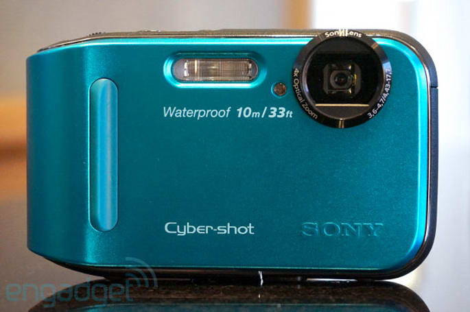 Sony's ruggedized Cyber-shot TF1 hits this month for $199, we go hands-on