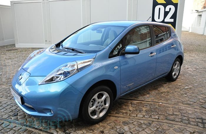 Nissan Leaf launches in Europe, takes us for a drive