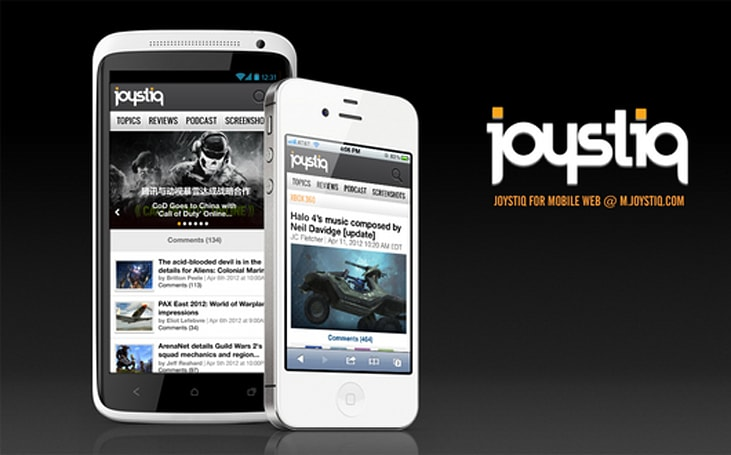 Joystiq's mobile site redone and relaunched at m.joystiq.com