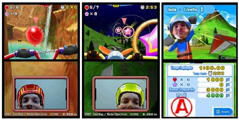 Nintendo DSi game lets your face do the flying (video)