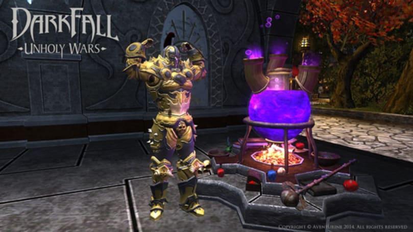 Darkfall getting armor dyes