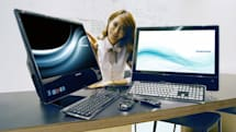 Samsung's AF315 All-in-One 3D PC targets the sophisticated woman and those who aspire to be one