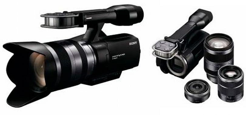 Sony issues NEX-VG10: first interchangeable lens HD Handycam camcorder
