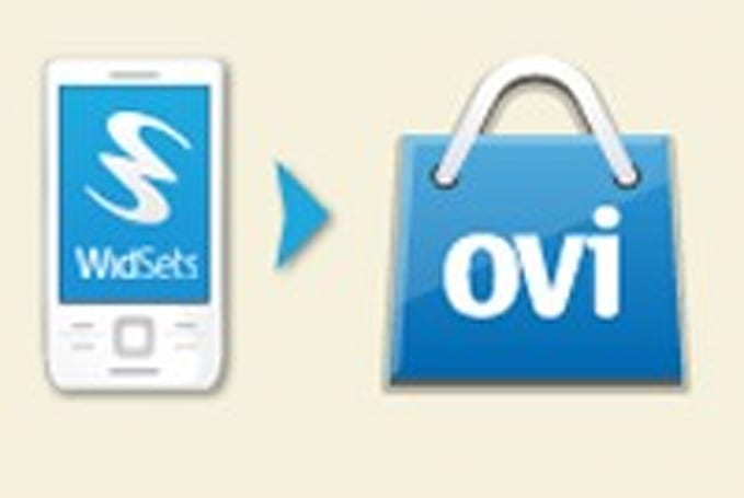 Nokia rolling WidSets into Ovi Store
