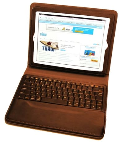 Qmadix Portfolio brings removable Bluetooth keyboard to an iPad 2 case (Updated)