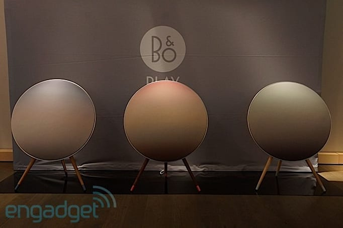B&O Play previews A9 Nordic Sky edition wireless speakers (eyes-on)