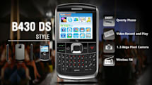 Fly Mobile's B430 DS marries Bold's keyboard, two SIMs, mystery meat OS