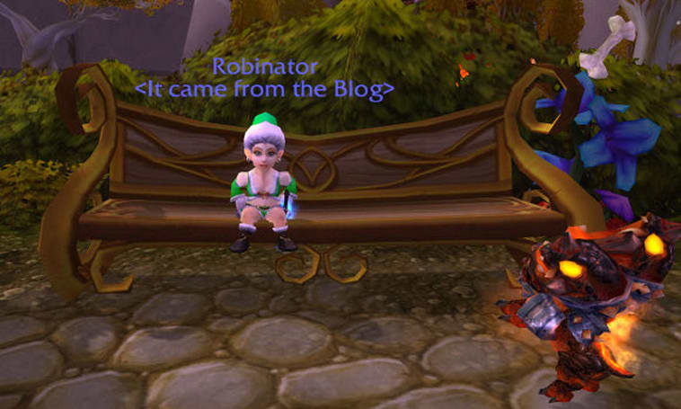 Reminder: It came from the Blog Winter Veil event today