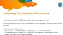 PSA: AT&T now unlocking out-of-contract iPhones