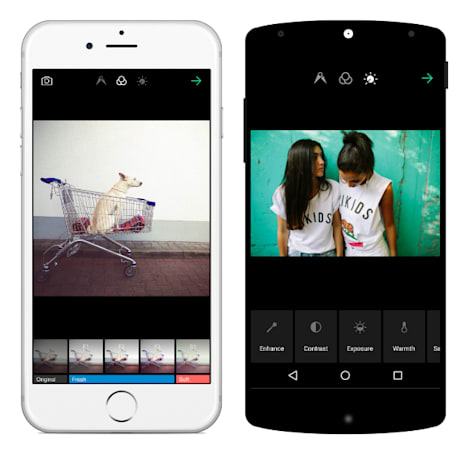 EyeEm now lets you see how other users tweak their photos
