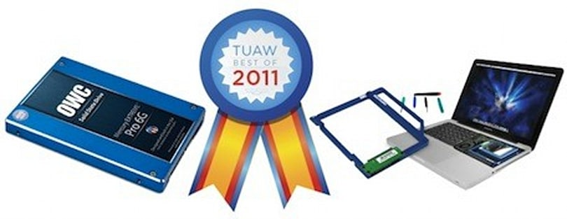 Two OWC products win TUAW Best of 2011 voting for Best Mac Peripheral or Accessory