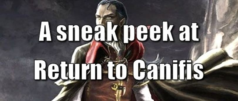 A sneak peek at RuneScape's Return to Canifis novel