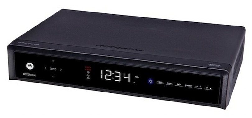 Motorola rolls out the latest HD DVR, the DCX3501-M