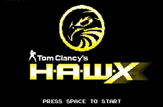 Tom Clancy's HAWX 2: The 8-bit Game has a missile lock on our heart