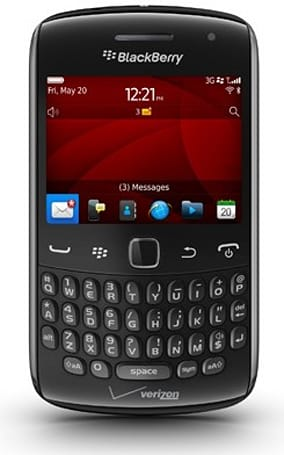 Verizon launches BlackBerry Curve 9370