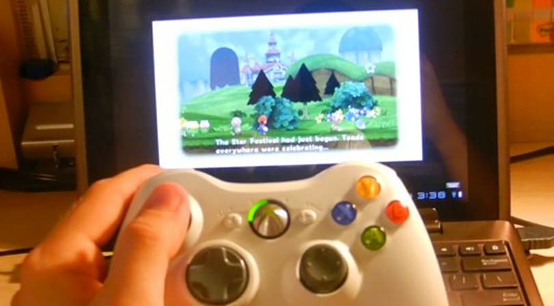 Technology: Play Wii on an Android tablet with an Xbox 360 controller