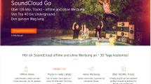 Soundcloud Go startet in Deutschland