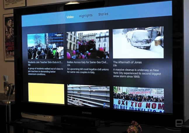 Fresco News brings its citizen journalism to Apple TV