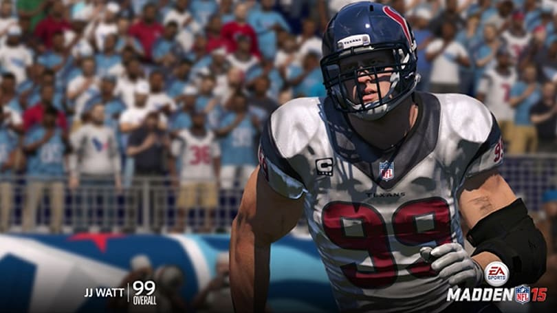 Madden 15 tackles top linemen, cornerback ratings