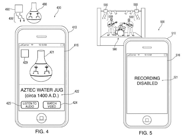 Apple camera patent could stop smartphone bootleggers in their tracks
