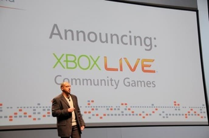 """First Xbox 360 Community Games to hit Live """"immediately"""""""