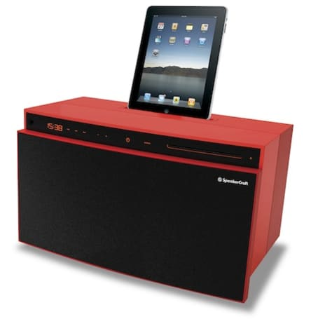 FloBox, FloBox Mini and Vital amp all include an iPad dock