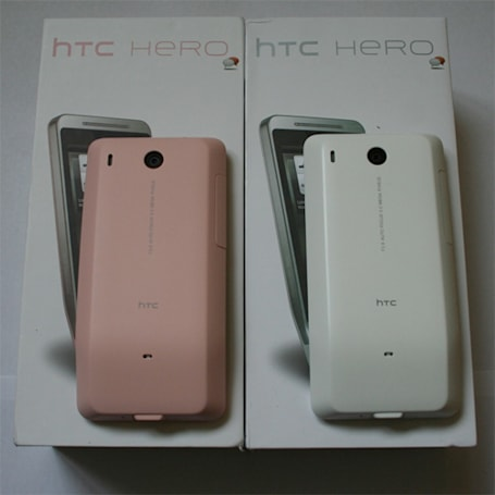 HTC beats Microsoft to the punch, rolls out a different kind of 'project pink' to the Hero
