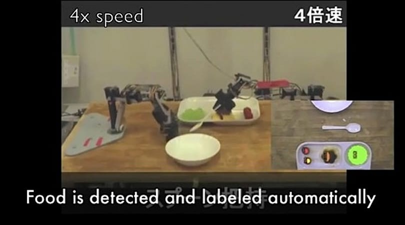 Voice-controlled Japanese robot assists with eating, makes veggies more fun (video)