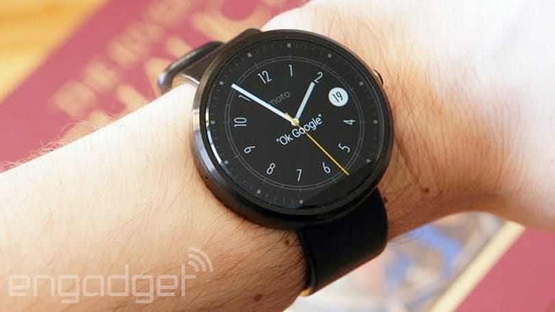 Google Maps app suddenly shows up on an Android Wear watch