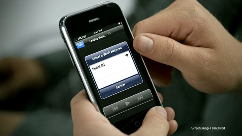 New Sprint ad shows iPhone using WiMAX... via Overdrive